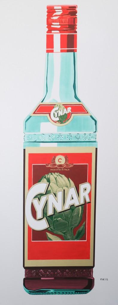 Cynar-Flasche