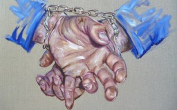Gefesselte Hände