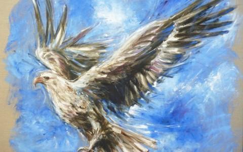 Steigender Adler